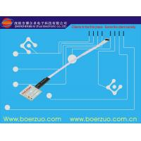 Buy cheap LED 3M Adhesive Membrane Switch Clear Large transparent LCD window product