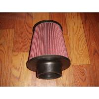 Quality Racing Auto Air Filters Upper And Lower With Rubber Cover / k And n Air Intake Filter wholesale