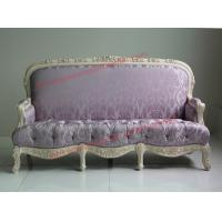 Cheap Parquetry and Golden Decortation in Wooden Carving Frame with Fabric Upholstery for sale