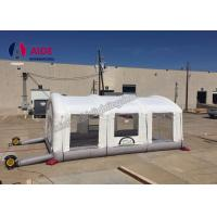 Quality Durable Inflatable Paint Booth For Car , Custom Pvc Inflatable Auto Paint Booth wholesale