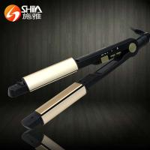 Quality Titanium flat iron newest design 2 in 1 hair straightener flat iron in china market wholesale
