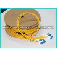 Quality 2.0MM 9 / 125um Pre Terminated Fiber Optic Cable OS2 For Telecom Utilities wholesale