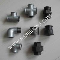 Cheap galvanized and black malleable iron pipe fittings of