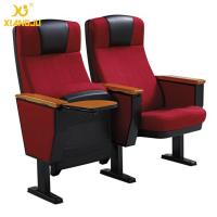 China Modular High Impact Polypropylene Contoured Seat Auditorium Chairs With Strong Steel on sale