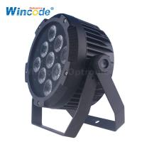 Quality 9*18W 6 In 1 Color Battery Powered Stage Lights For Events / Wedding LED Uplighting wholesale