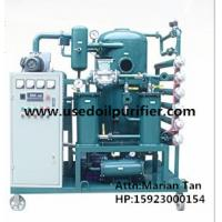 Quality ZJA Double-Stage Vacuum Transformer Oil and Insulation Oil Purification Plant wholesale