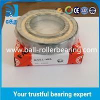 Quality Chrome Steel Angular Contact Ball Bearing , Four Point Ball Bearing QJ211 MPA wholesale