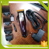 China PF-805 High Quality Li ion Battery 150 Minutes Oparation Cordless Hair Clipper Rechargeable Barber Trimmer on sale