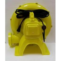 China Sturdy Durable Inflatable Slide Blower , Yellow Inflatable Toy Blower Low Noise on sale