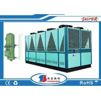 Quality Single Circult Loop Air Cooled Screw Chiller , Air Cooled Chiller Plant wholesale