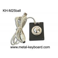 Buy cheap Optical Panel Mount Mouse Trackball Standard USB / PS2 Output Support Dia 25mm from wholesalers