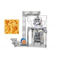 Buy cheap High Efficiency Vertical Automatic Packaging Machine For Popcorn , Snack Foods from wholesalers