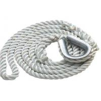 Cheap 3-strand twisted polypropylene anchor dock line rope code for sale