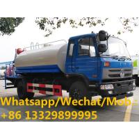 Quality Dongfeng 145 170hp 10cbm water tanker truck with mist cannon for dust suppression, HOT SALE! water spraying vehicle wholesale