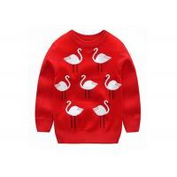 China Mercerized Cotton Kids Knit Sweater Jumper 1KG Weight Quick Delivery on sale