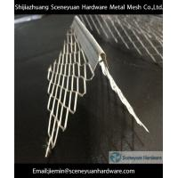 China galvanized expanded  angle bead on sale