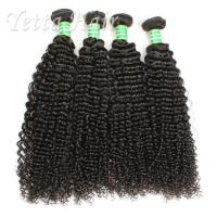 China One Donor Malaysian Deep Curly Hair , Natural Hair Wave No Foul Odor on sale