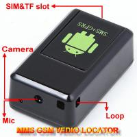 Quality GF-08 GSM MMS Video Photo Transmit Camera Recorder GPS Tracker Aduio Listening Bug 3-in-1 wholesale