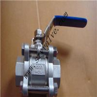 Quality 316L 3pc Threaded End Ball Valve wholesale