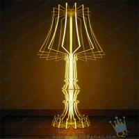 Quality CH (5) clear Acrylic candle holder wholesale