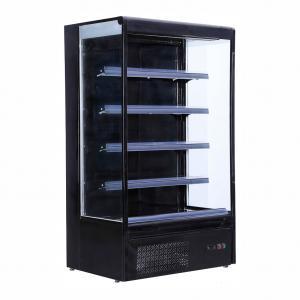 Embraco Compressor Vertical Display Fridge Dairy Food / Beverage Display