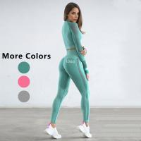 Quality Women Custom Printed Gym Fitness Compression Workout Sport Seamless Tights Leggings Yoga Pants wholesale