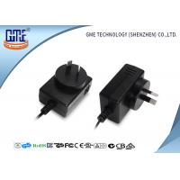 Quality 3V to 24.9V 0.01A to 2A 12W Wall Mount Adaptor , wall plug power supply AU Style wholesale