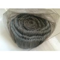 Quality Bar Tie Galvanised Iron Wire With Double Loop Tie , 16 Gauge 1000pcs Per Roll wholesale