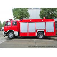Quality Fire Fighting Vehicles For Emergency Fire Rescue , Fire Service Truck Dongfeng wholesale