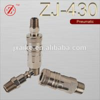 China carbon steel bspt male thread coupler and nipple air quick coupler on sale