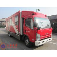 Quality Max Speed 90KM/H Fire Pumper Truck , 4x2 Drive Type Gas Supply Firefighter Truck wholesale