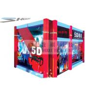 Quality Mobile 5D Cinema Simulator With Audio System And Polarized Glasses wholesale