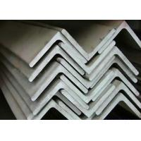 China 3mm Thickness 310S Stainless Steel Angle Bar With Equal And Unequal Angle Types on sale