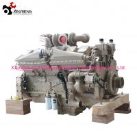 Buy cheap Industrial Machinery Cummings Diesel Engine KTA38-C1050 V-12 Cylinders 38L Displacement from wholesalers