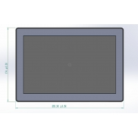 Buy cheap Factory OEM Industrial Control Wall Recessed Android OS 10 Inch Touch Screen from wholesalers