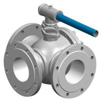 Quality Three-Way Flanged Ball Valves wholesale