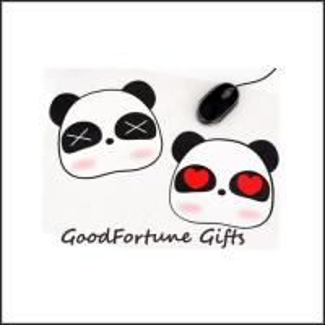 Quality customed printed logo hot sale cartoon panda Eco pvc foam mouse wrist rest pad mats gift wholesale