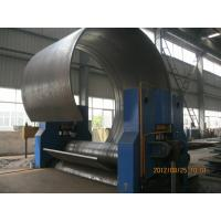 CNC Hydraulic Sheet Metal Rolling Machine With High Precision 3 Roller Structure