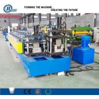 Quality Drywall Stud And Track Roll Forming Machine / Roll Forming Equipment For Light Steel Track wholesale