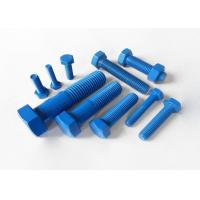 China Customized PTFE Bolts - Colorful PTFE (XYLAN) Coating Hex Head Bolts and Stud Bolts on sale