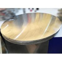 Quality Utensil Aluminum Circle Blanks / Aluminium Discs Circles Mill Finished Flat Surface wholesale