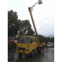 China new SINO TRUK HOWO 4*2 LHD/RHD 14m-16m bucket truck for sale, factory direct sale price HOWO 16m overhead working truck on sale