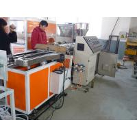 Quality pe pp pvc pa single wall corrugated hose extruding machine manufacturing plant for sale wholesale