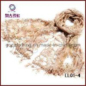 Quality Beautiful Paillette Lace Scarf (LL01-4) wholesale