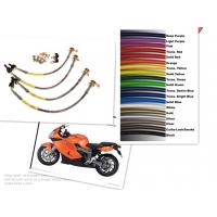 China Motorcycle Racing Colored TEFLON/PTFE Steel Braided Brake Line Hose Kits on sale