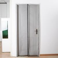 China Fiberglass Magnetic Screen Door Curtain Commercial Easy To Assembling on sale