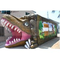 Quality Soundproof Dinosaur Box 5D Movie Theater 9 Seats With Luxury Movement Chair wholesale