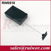 Quality Adhesive Quadrate ABS Plate Retractable Security Tether For Retail Displays wholesale