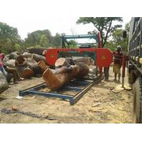 Cheap Band Sawmill horizontal band mill protable wood working band saw mills Low cost for sale