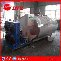 Quality Good Polish Sanitary Horizontal Milk Cooling Tank For Bulk Milk CE wholesale